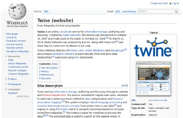 http://en.wikipedia.org/wiki/Twine_(website)