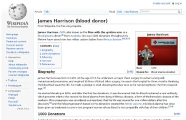 http://en.wikipedia.org/wiki/James_Harrison_(blood_donor)