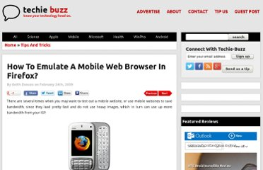 http://techie-buzz.com/tips-and-tricks/emulate-mobile-browser-in-firefox.html