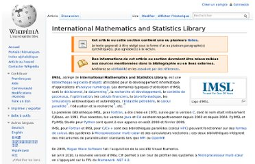 http://fr.wikipedia.org/wiki/International_Mathematics_and_Statistics_Library