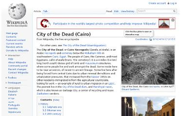 http://en.wikipedia.org/wiki/City_of_the_Dead_(Cairo)