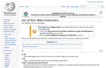 http://en.wikipedia.org/wiki/List_of_Star_Wars_characters#I