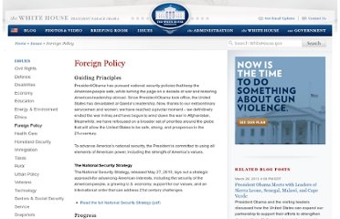 http://www.whitehouse.gov/issues/foreign-policy