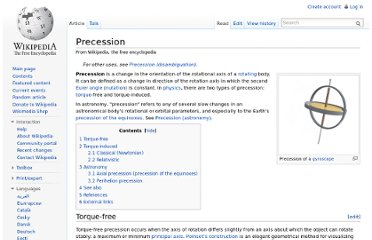 http://en.wikipedia.org/wiki/Precession#The_Mithraic_Question