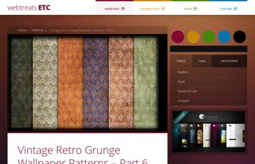 http://webtreats.mysitemyway.com/vintage-retro-grunge-wallpaper-patterns-part-6/