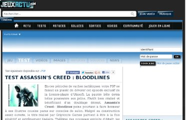 http://www.jeuxactu.com/test-assassin-s-creed-bloodlines-41521.htm