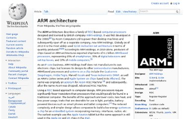 http://en.wikipedia.org/wiki/ARM_architecture