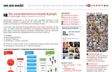 http://wearesocial.net/blog/2011/09/connection-brands-people/