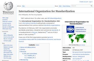 http://en.wikipedia.org/wiki/International_Organization_for_Standardization