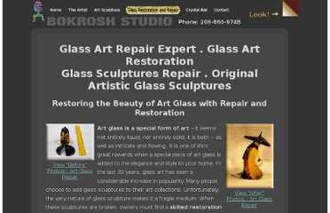 http://www.bokrosh.com/art-glass-repair.html