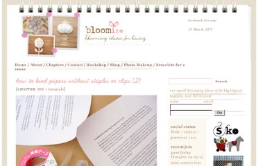 http://www.bloomize.com/how-to-bind-papers-without-staples-or-clips-2/