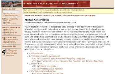 http://plato.stanford.edu/entries/naturalism-moral/