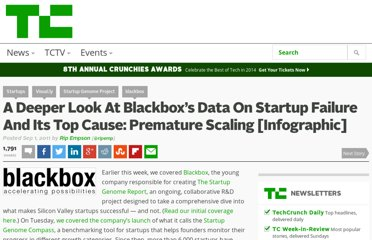 http://techcrunch.com/2011/09/01/a-deeper-look-at-blackboxs-data-on-startup-failure-and-its-top-cause-premature-scaling-infographic/