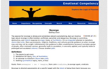 http://www.emotionalcompetency.com/revenge.htm