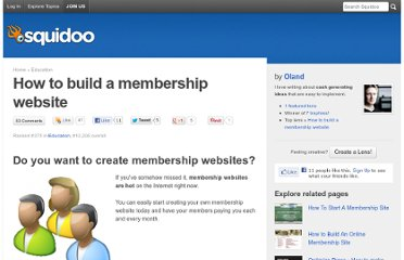 http://www.squidoo.com/membership-website