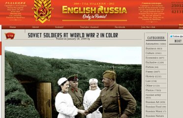http://englishrussia.com/2009/01/28/soviet-soldiers-at-world-war-2-in-color/