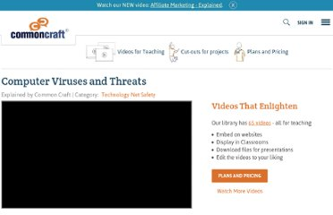 http://www.commoncraft.com/video/computer-viruses-and-threats