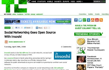 http://techcrunch.com/2008/04/29/social-networking-goes-open-source-with-insoshi/