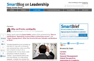http://smartblogs.com/leadership/2009/10/05/why-well-miss-ambiguity/