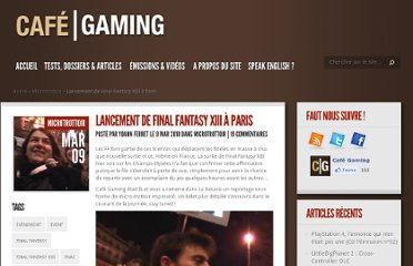http://www.cafegaming.fr/2010/03/09/video-lancement-de-final-fantasy-xiii-a-paris-08-03-2010/
