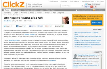http://www.clickz.com/clickz/column/1695880/why-negative-reviews-gift