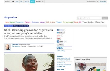 http://www.guardian.co.uk/business/2011/feb/03/shell-nigeria-analysis-environmentalist-criticisms