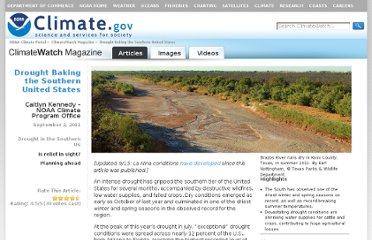 http://www.climatewatch.noaa.gov/article/2011/drought-in-the-southern-united-states