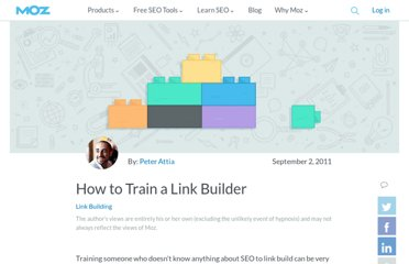 http://www.seomoz.org/blog/how-to-train-a-link-builder