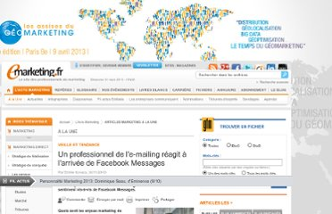 http://www.e-marketing.fr/Article-A-La-Une/Un-professionnel-de-l-e-mailing-reagit-a-l-arrivee-de-Facebook-Messages-2061.htm