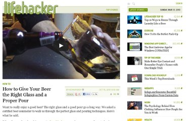 http://lifehacker.com/5664424/how-to-give-your-beer-the-right-glass-and-a-proper-pour
