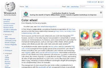 http://en.wikipedia.org/wiki/Color_wheel