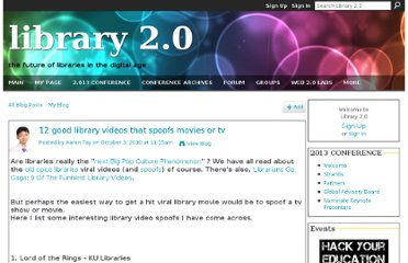 http://www.library20.com/profiles/blogs/12-good-library-videos-that