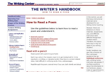 http://writing.wisc.edu/Handbook/ReadingPoetry.html