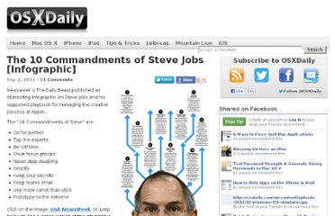 http://osxdaily.com/2011/09/02/the-10-commandments-of-steve-jobs-infographic/