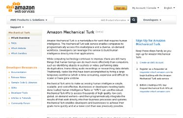 http://aws.amazon.com/mturk/