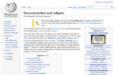 http://en.wikipedia.org/wiki/Deconstruction_and_religion