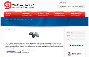 http://www.theconsultants-e.com/resources/lessons/lessonrepository.aspx