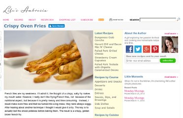 http://www.lifesambrosia.com/2009/01/crispy-oven-fries-recipe.html