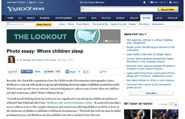 http://news.yahoo.com/blogs/lookout/photo-essay-where-children-sleep-204230454.html