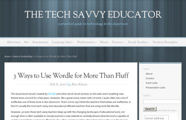 http://www.techsavvyed.net/archives/1154