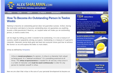 http://www.alexshalman.com/2007/02/08/how-to-become-an-outstanding-person-in-twelve-weeks/