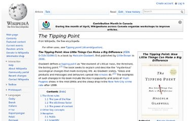 http://en.wikipedia.org/wiki/The_Tipping_Point