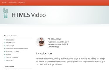 http://www.html5rocks.com/en/tutorials/video/basics/