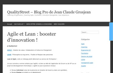 http://www.qualitystreet.fr/2009/06/21/agile-et-lean-booster-dinnovation/