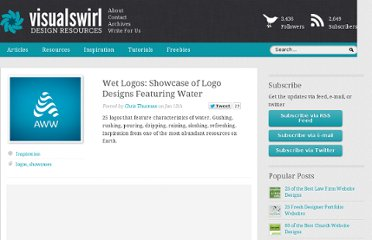http://www.visualswirl.com/inspiration/wet-logos-showcase-of-logo-designs-featuring-water/