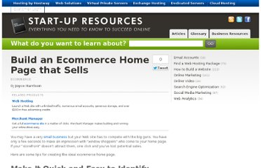 http://www.hostway.com/web-resources/how-to-build-a-website/ecommerce-how-to-build-a-website/build-an-ecommerce-home-page-that-sells/