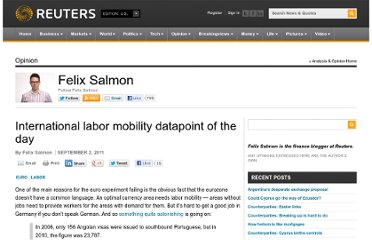 http://blogs.reuters.com/felix-salmon/2011/09/02/international-labor-mobility-datapoint-of-the-day/