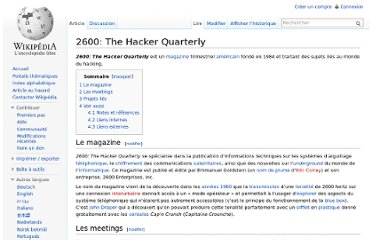 http://fr.wikipedia.org/wiki/2600:_The_Hacker_Quarterly