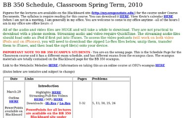 http://oregonstate.edu/instruction/bb350/spring10/schedule.html