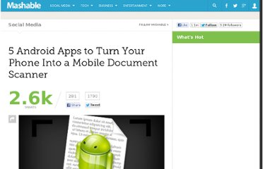http://mashable.com/2011/09/03/android-apps-document-scanner-pdf/